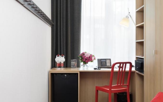 Tweepersoonskamer van Hotel Azimut Moscow Tulskay in Moskou