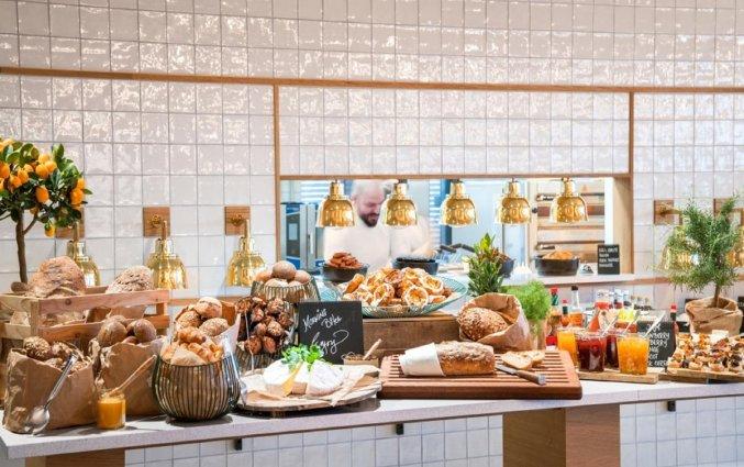 Ontbijt van Hotel Radisson Blu Scandinavia in Kopenhagen