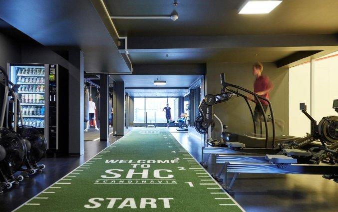 Fitnesszaal van Hotel Radisson Blu Scandinavia in Kopenhagen
