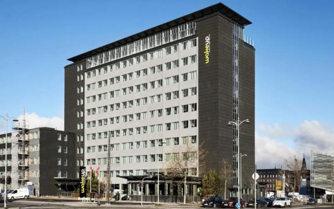 Vooraanzicht van hotel Wakeup Copenhagen - Bernstorffsgade