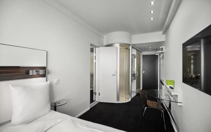 Tweepersoonskamer van hotel Wakeup Copenhagen - Bernstorffsgade
