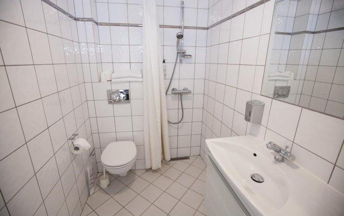 Badkamer van Hotel Ansgar Kopenhagen