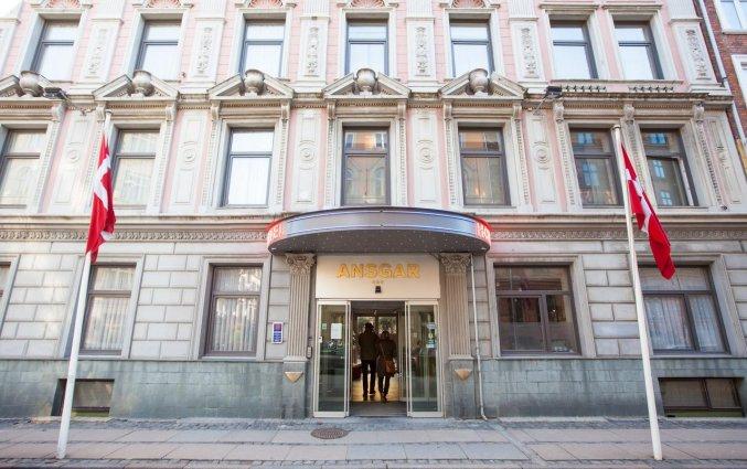 Vooraanzicht van Hotel Ansgar Kopenhagen