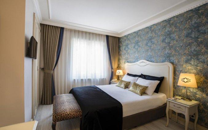 Tweepersoonskamer van Hotel Raymond Istanbul