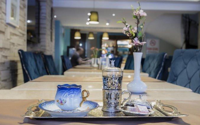 Restaurant van Hotel Raymond Istanbul