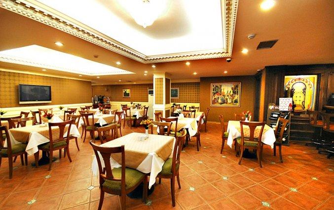 Restaurant van Golden Crown Hotel Istanbul