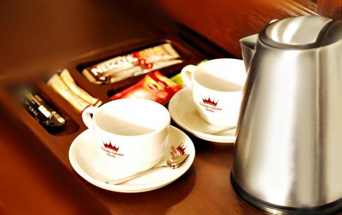 Koffie van Golden Crown Hotel Istanbul