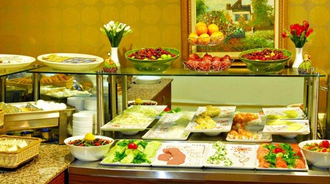 Ontbijt van Golden Crown Hotel Istanbul