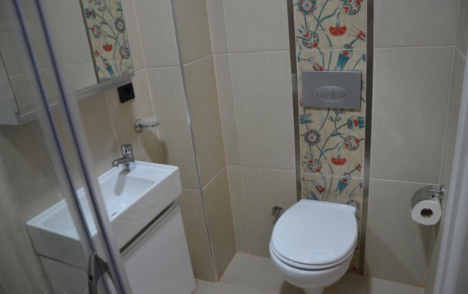 Badkamer van Appartementen A Plus Residence in Istanbul