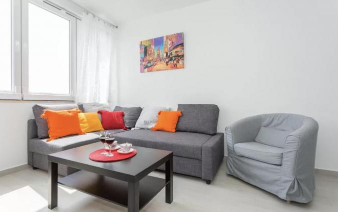 Zithoek van Appartementen Casper in Dubrovnik