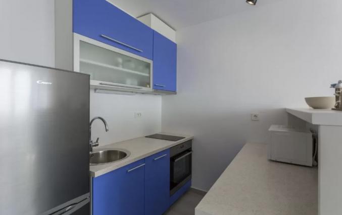 Keuken van Appartementen Casper in Dubrovnik