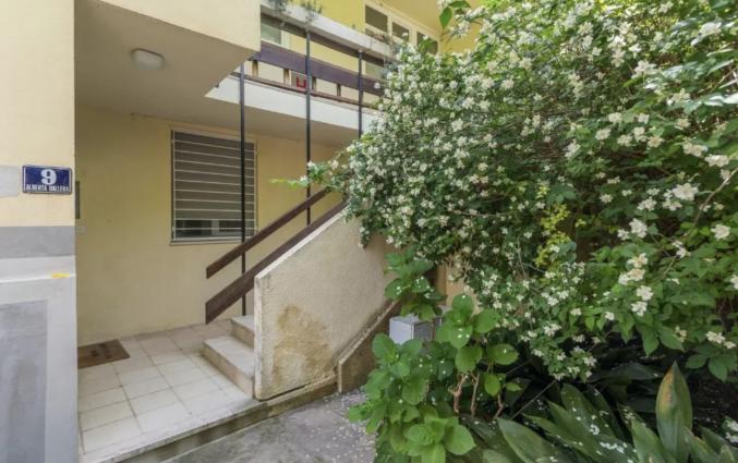 Entree van Appartementen Casper in Dubrovnik