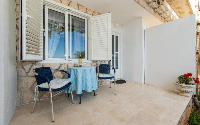 Terras van Guesthouse Home Sweet Home in Dubrovnik