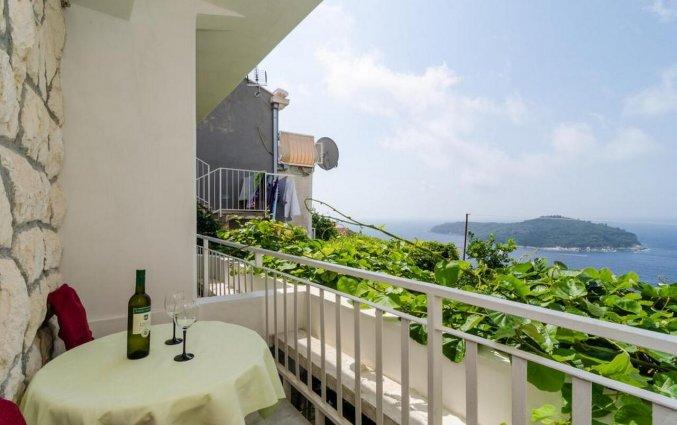 Balkon van Guesthouse Home Sweet Home in Dubrovnik