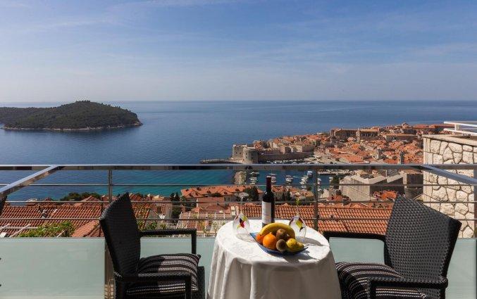 Dakterras met uitzicht van Guesthouse Home Sweet Home in Dubrovnik