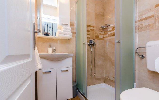 Badkamer in de kamer van Hotel Rooms Baza in Dubrovnik