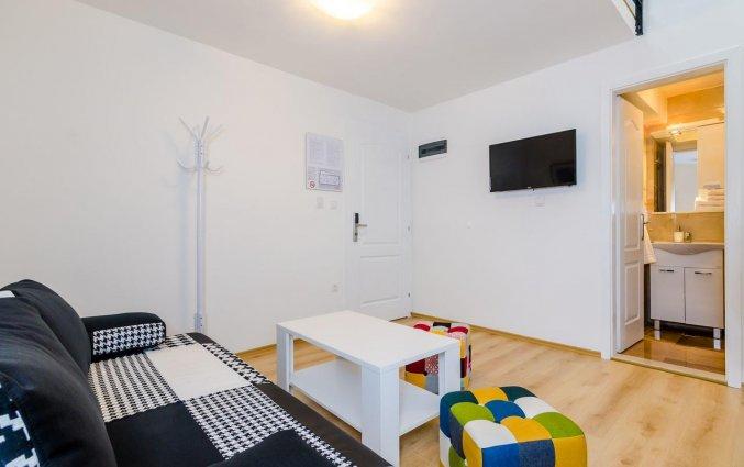 Zitruimte in de kamer van Hotel Rooms Baza in Dubrovnik
