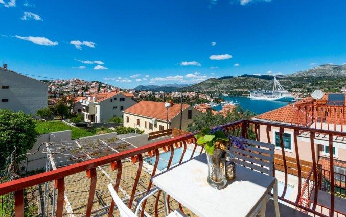 Balkon van Aparthotel Villa Viljalo in Dubrovnik