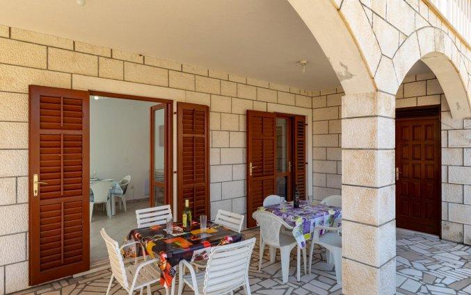 Terras van Aparthotel Villa Viljalo in Dubrovnik