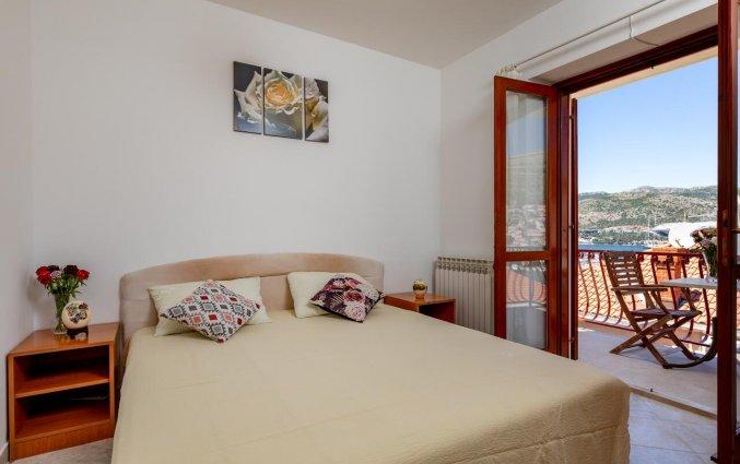 Tweepersoonskamer van Aparthotel Villa Viljalo in Dubrovnik