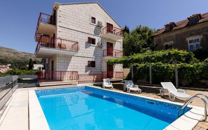 Zwembad van Aparthotel Villa Viljalo in Dubrovnik