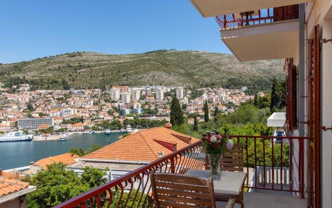 Balkanon met uitzicht van Aparthotel Villa Viljalo in Dubrovnik