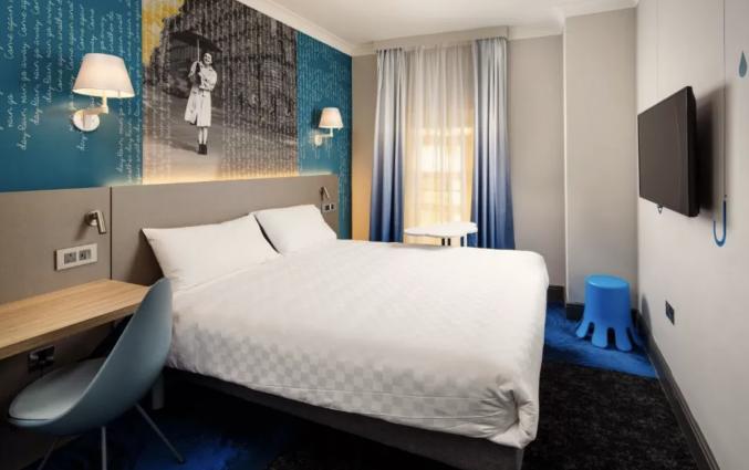 Tweepersoonskamer van Hotel ibis Styles Manchester Portland