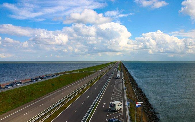 Nederland - Afsluitdijk