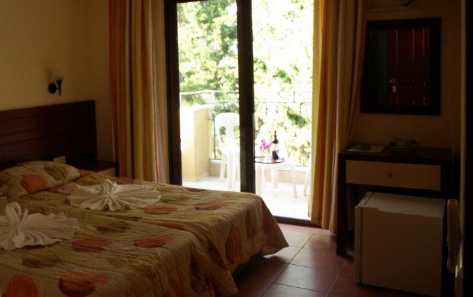 Tweepersoonskamer van Hotel Lemas Suite in Side