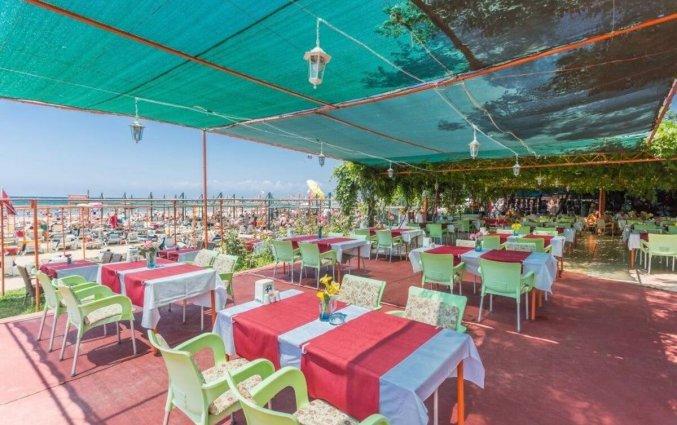 Restaurant van Appartementen Heaven Beach in Side