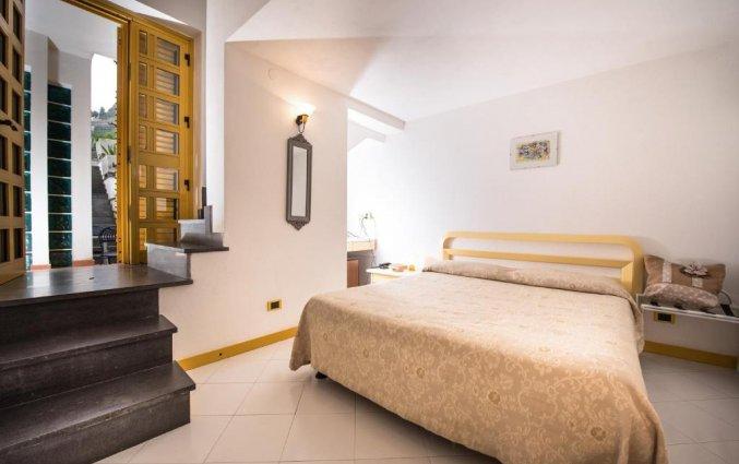 Tweepersoonskamer van Hotel Albergo Diffuso Bacco Furore in Amalfi