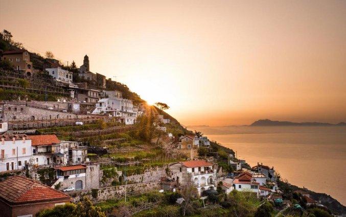 Uitzicht van Hotel Albergo Diffuso Bacco Furore in Amalfi