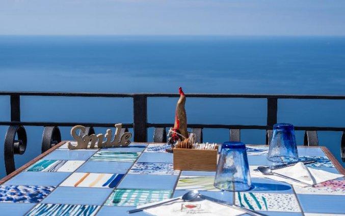 Terras van Hotel Albergo Diffuso Bacco Furore in Amalfi