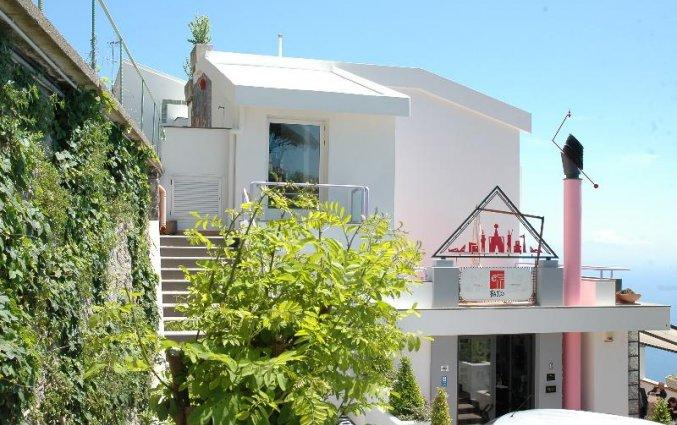 Entree van Hotel Albergo Diffuso Bacco Furore in Amalfi