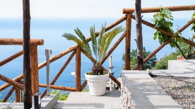 Tuin van Hotel Albergo Diffuso Bacco Furore in Amalfi
