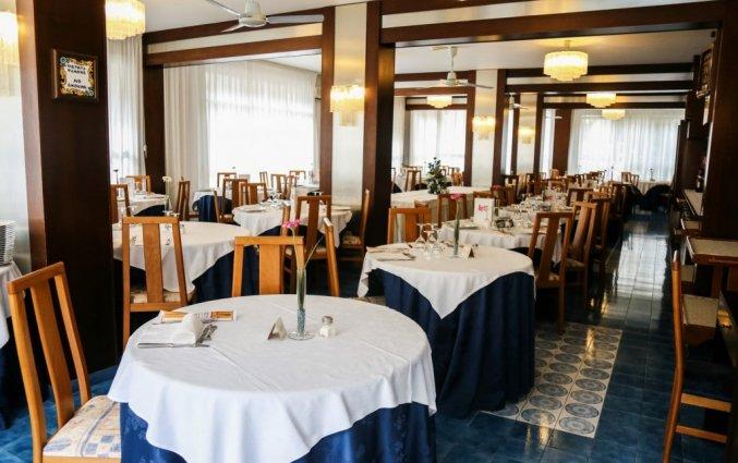 Restaurant van het hotel san pietro