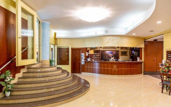 Receptie van Hotel San Luca