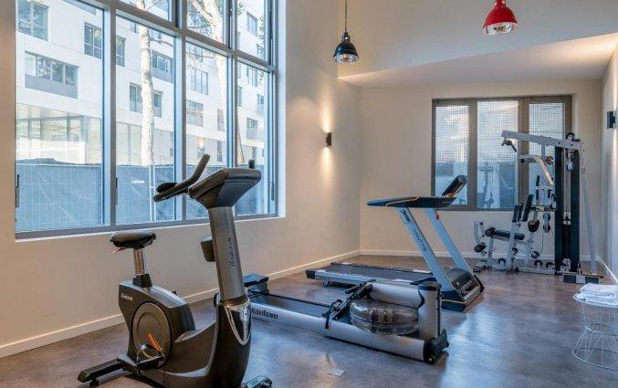 Fitness van Appartementen All Suites Bordeaux Marne in Bordeaux