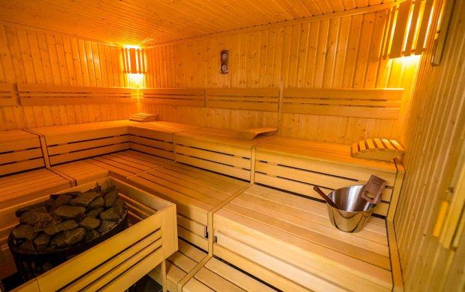 Sauna van Appartementen All Suites Bordeaux Marne in Bordeaux