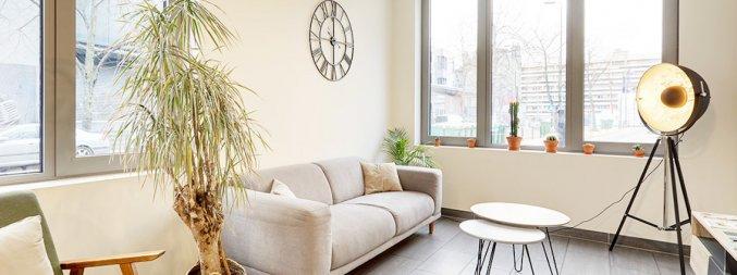 Lounge van Appartementen All Suites Bordeaux Marne in Bordeaux