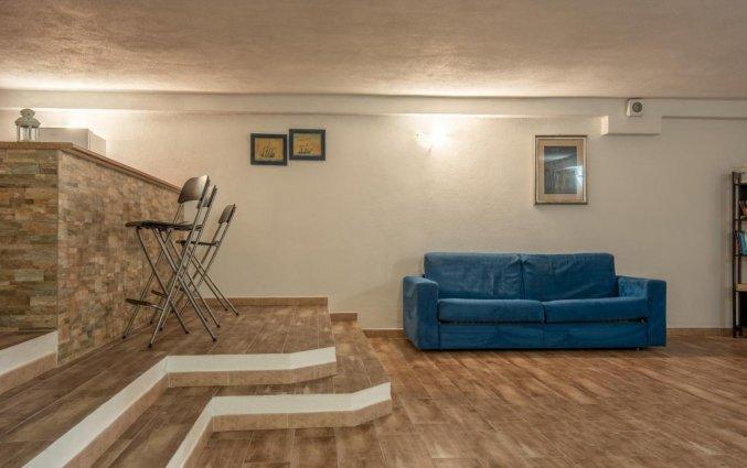 Lobby van Residence Cristal Blu op Sardinie