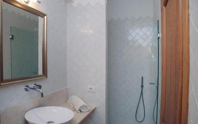 Badkamer bij Hotel Dolce Vita