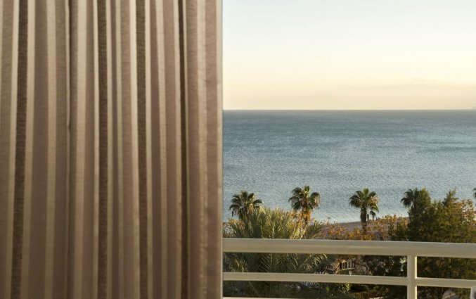 Slaapkamer van Hotel The Corner Park in Antalya