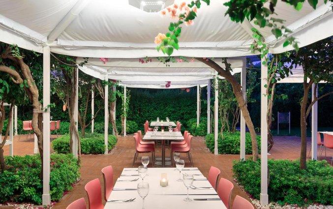 Eetplein van Hotel Su & Aqualand in Antalya