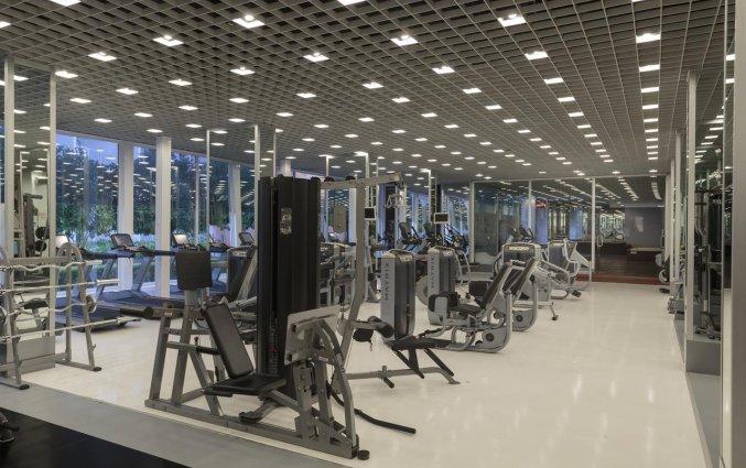 Fitnessruimte van Hotel Su & Aqualand in Antalya