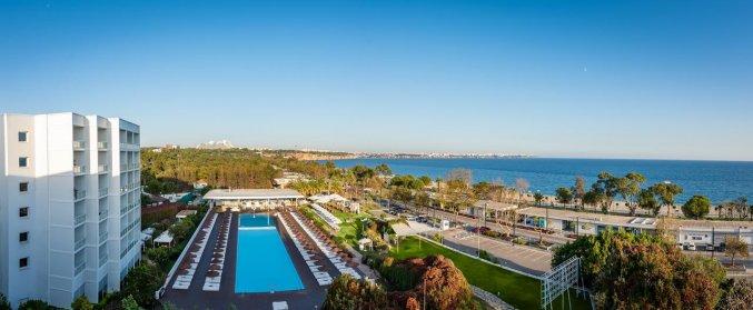 Zwembad van Hotel Su & Aqualand in Antalya