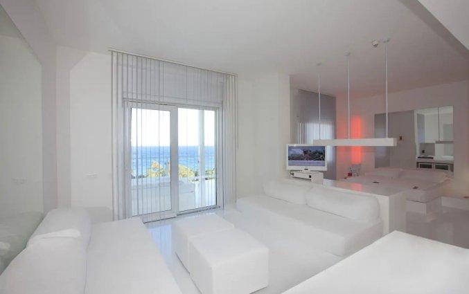 Slaapkamer van Hotel Su & Aqualand in Antalya