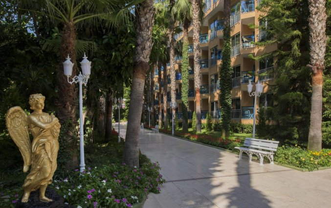 Tuin van Hotel & Resort Botanik in Side