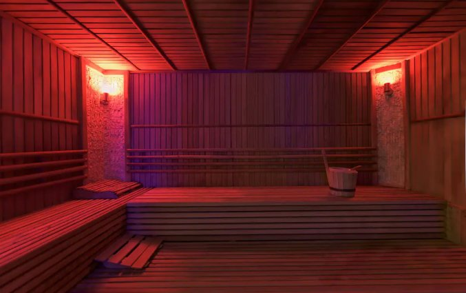 Sauna van Hotel & Resort Botanik in Side