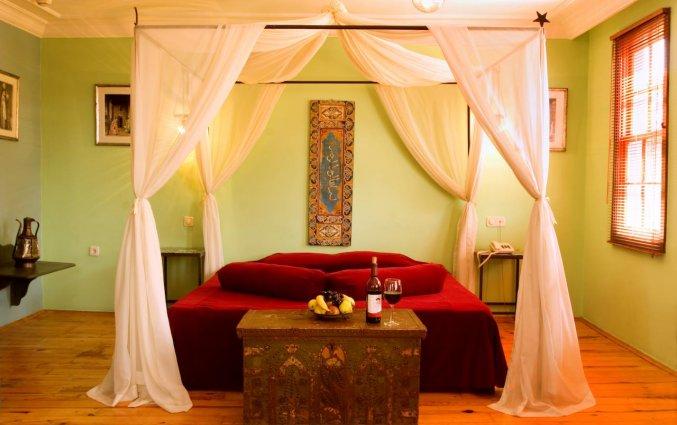 Slaapkamer van Hotel Alp Pasa in Antalya